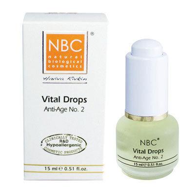 Омолаживающее средство № 2 Капли жизни VITAL DROPS (anti age № 2) NBC Haviva Rivkin