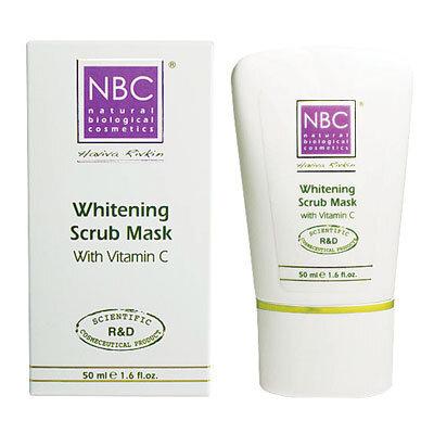 Отбеливающая маска-скраб WHITENING SCRUB MASK NBC Haviva Rivkin