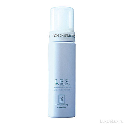 Очищающая пенка для чувствительной кожи LES Clear Washing CHANSON COSMETICS