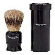 Помазок для бритья Черное дерево Ebony Tube Traveller Shaving Brush TRUEFITT and HILL