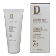 Крем для лица выравнивающий CHRONO AGE Urban Base Antismog SPF 20 Dermophisiologique