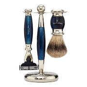 Набор для бритья Голубой опал Blue Opal Edwardian Set Mach3 TRUEFITT and HILL
