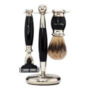 Набор для бритья Черное дерево Ebony Edwardian Set Mach3 TRUEFITT and HILL