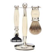 Набор для бритья Слоновая кость Ivory Edwardian Set Mach3 TRUEFITT and HILL
