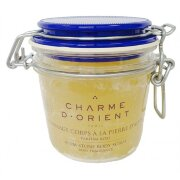 Пилинг для тела с квасцовым камнем Розы Roses Alum stone scrubs with honey and royal jelly Charme d'Orient
