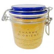 Пилинг для тела с квасцовым камнем Жасмин Jasmin Alum stone scrubs with honey and royal jelly Charme d'Orient