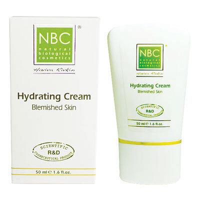 Увлажняющий крем для проблемной и жирной кожи Hydrating Cream for Blemished Skin NBC Haviva Rivkin