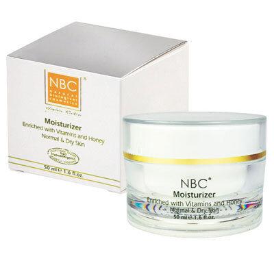 Увлажняющий крем с витаминами и медом для нормальной и сухой кожи MOISTURIZER FOR NORMAL AND DRY SKIN NBC Haviva Rivkin