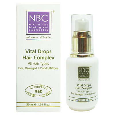 Комплекс для укрепления корней волос Капли жизни VITAL DROPS HAIR COMPLEX NBC Haviva Rivkin
